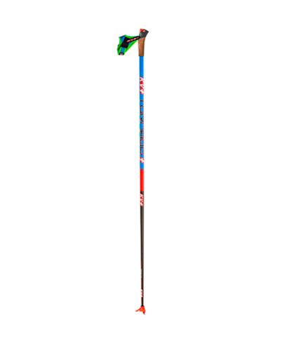 Профессиональные лыжные палки KV+ TORNADO BLUE/QCD cross country pole (20P004Q) Kit