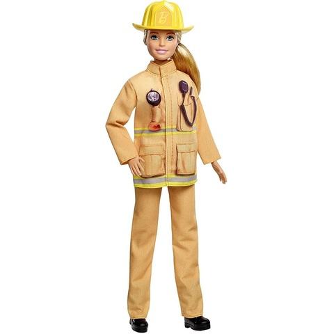 Барби Кем Быть Пожарная Блондинка