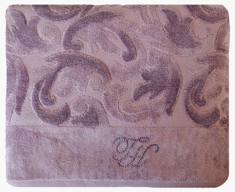 Покрывало ПИКЕ BAROC фиолетовый TIVOLYO HOME Турция