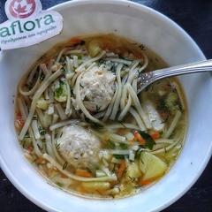 Суп с куриными фрикадельками / 350 мл
