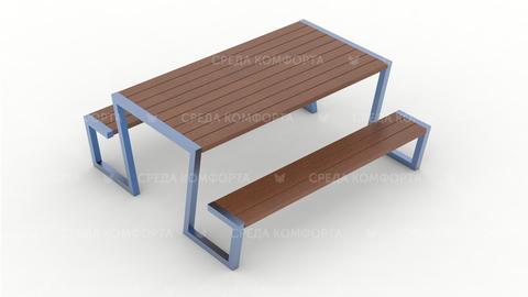 Скамейка со столом SCAM0248