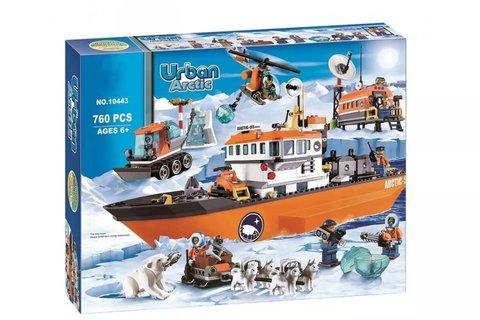 Конструктор 10443 Арктический ледокол