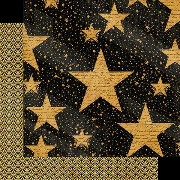 Бумага для скрапбукинга Star Studded, Graphic45