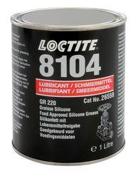 LOCTITE LB 8104 Cмазка силиконовая для пищевой промышленности, банка