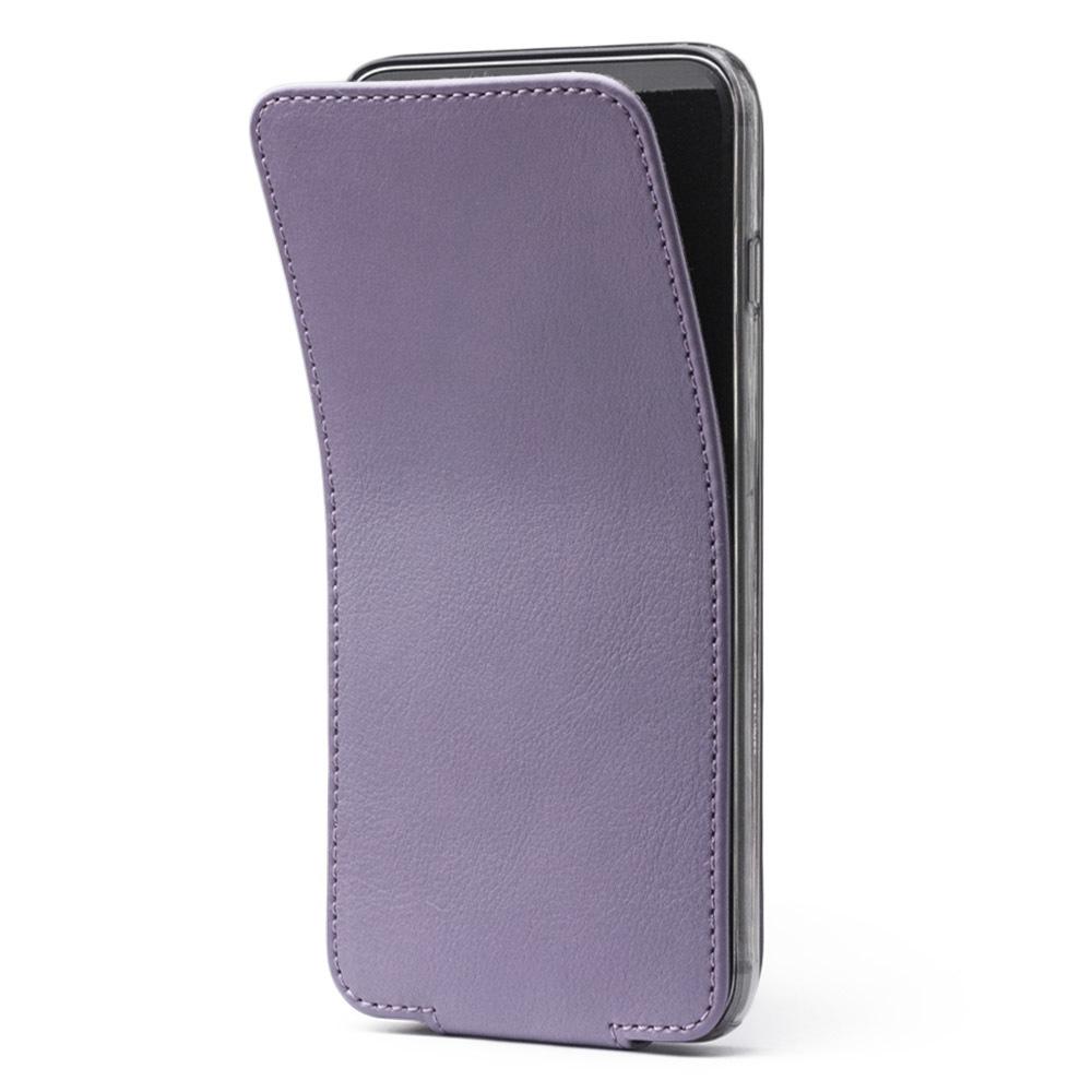 Чехол для iPhone 6/6S из натуральной кожи теленка, фиолетового цвета