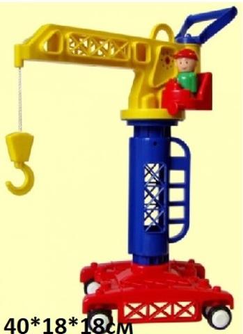 Кран башенный (Детский сад) (Форма) С-81-Ф
