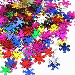 снежинки-конфети-цветные-набор