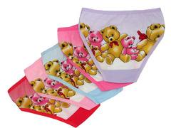 W1072 трусы для девочек, цветные
