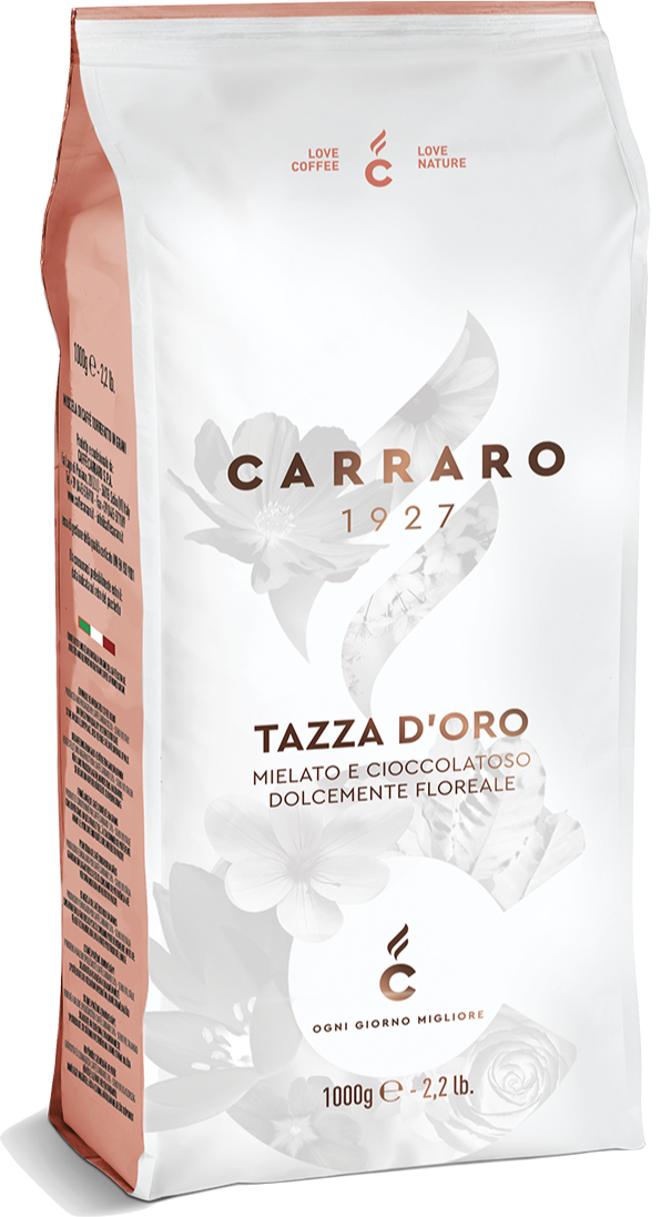 Кофе в зернах Carraro Tazza D'oro 1 кг