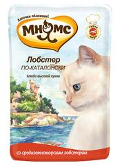 Пауч для кошек Мнямс  Лобстер по-каталонски