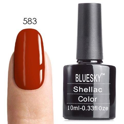 Bluesky Shellac 40501/80501 Гель-лак Bluesky № 40583/80583 Fine Vermillion, 10 мл 40583.jpg
