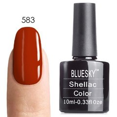 Гель-лак Bluesky № 40583/80583 Fine Vermillion, 10 мл