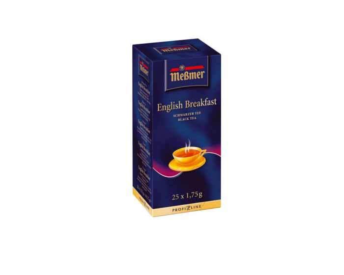 Чай черный в пакетиках Messmer Английский Завтрак, 25 пак/уп, 1,75 г
