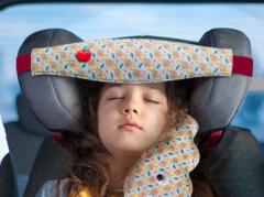 Фиксатор головы ребенка для автокресла + подушка Облачко Клювонос