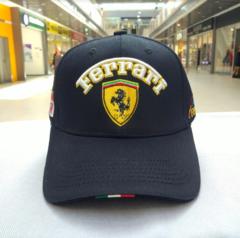 Кепка Феррари (Бейсболка Ferrari) темно-синяя