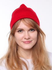 Красная демисезонная шапочка