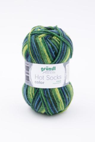 Носочная пряжа Gruendl Hot Socks Color купить