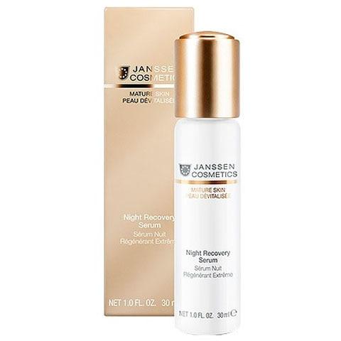 Janssen Mature Skin: Anti-age ночная восстанавливающая сыворотка для лица с комплексом Cellular Regeneration (Night Recovery Serum)