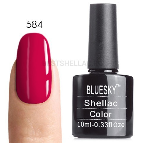 Bluesky Shellac 40501/80501 Гель-лак Bluesky № 40584/80584 Rose Brocade, 10 мл 584.jpg