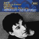 Vladimir Ashkenazy, London Symphony Orchestra, David Zinman / Bach: Keyboard Concerto in D Minor, Chopin: Piano Concerto No.2 (LP)