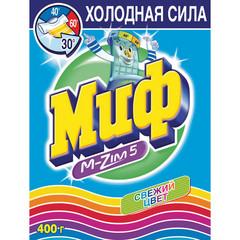 Порошок стиральный автомат Миф Свежий цвет 400 г