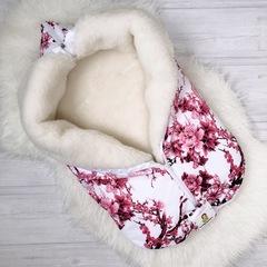 СуперМамкет. Конверт-одеяло всесезонное Мультикокон ®, сакура розовый вид 6