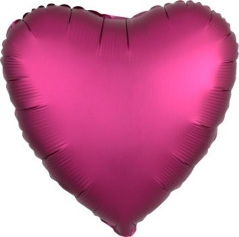 Сердце-фуксия