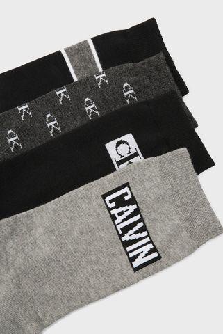 Женские хлопковые носки (4 пары) CK WOMEN CREW Calvin Klein