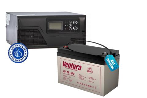 Комплект ECOVOLT SMART 312+VENTURA GP 12-100