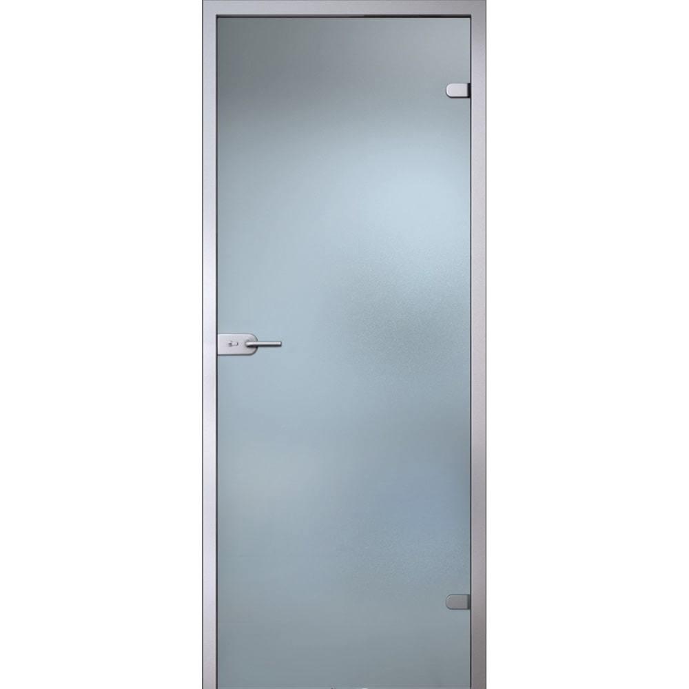 Межкомнатные двери Межкомнатная стеклянная дверь АКМА Лайт стекло бесцветное матовое lait-bescvetnoe-dvertsov-min.jpg