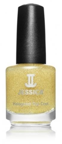 Лак JESSICA 600 Gold Голографический закрепитель лака (золото)