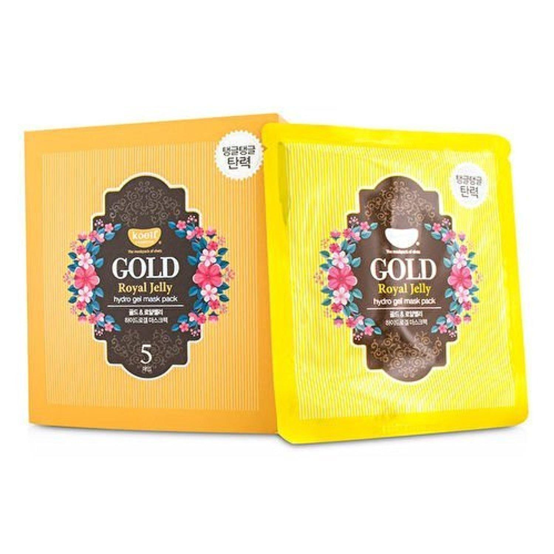 Гидрогелевая маска для лица с золотом и маточным молочком Koelf Gold & Royal Jelly Mask