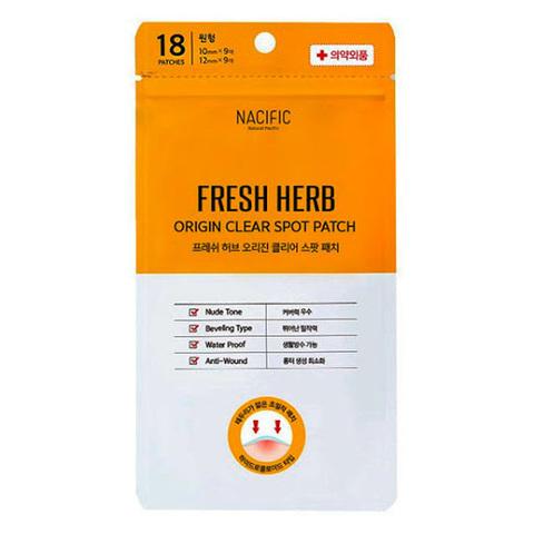 Патчи Для Лечения Воспалений NACIFIC Fresh Herb Clear Spot Patch