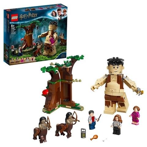 LEGO Harry Potter 75967 Конструктор ЛЕГО Гарри Поттер Запретный лес: Грохх и Долорес Амбридж