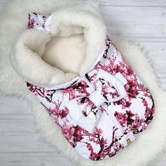 СуперМамкет. Конверт-одеяло всесезонное Мультикокон ®, сакура розовый вид 7