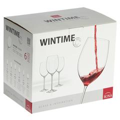 Набор бокалов для вина, 6 шт, «Wintime», «Гранд микс», фото 2