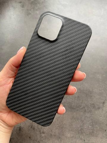 Чехол iPhone 12 Pro Max /6,7''/ Carbon /black/