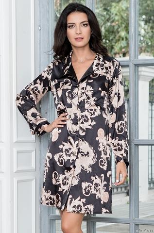 Рубашка платье женское  Mia-Amore  VERSACHI GOLD  Версаче Голд  9937