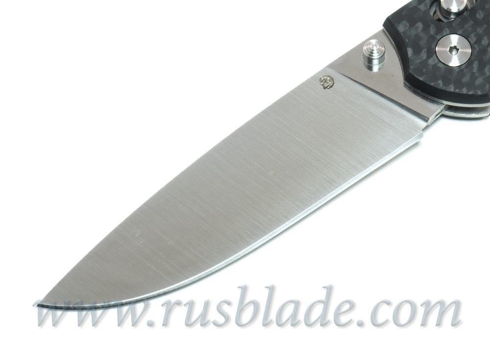 Cheburkov Scout Elmax Folding Knife Carbon Fiber Axis Lock Best Russian Knives