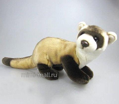Мягкая игрушка Хорек 38 см (Leosco)
