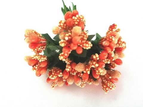 Букетики тычинок, цвет Оранжевый