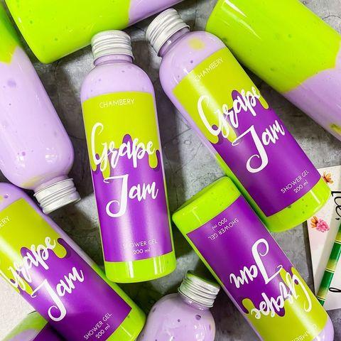 Chambery Гель для душа Grape Jam 200 мл.