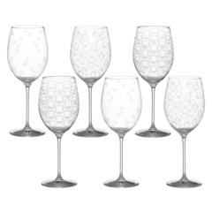 Набор бокалов для вина, 6 шт, «Wintime», «Гранд микс», фото 5