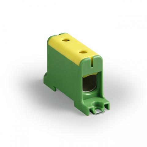 Клемма вводная силовая КВС 35-240 кв.мм. желтая/зеленая TDM