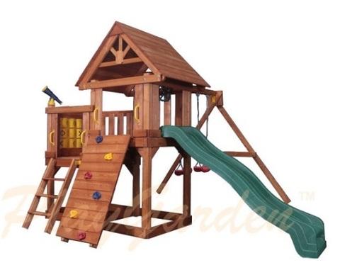 Детская площадка Green Hill II с балконом