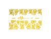 Фольга для дизайна ногтей цвет золото 21 купить за 120руб