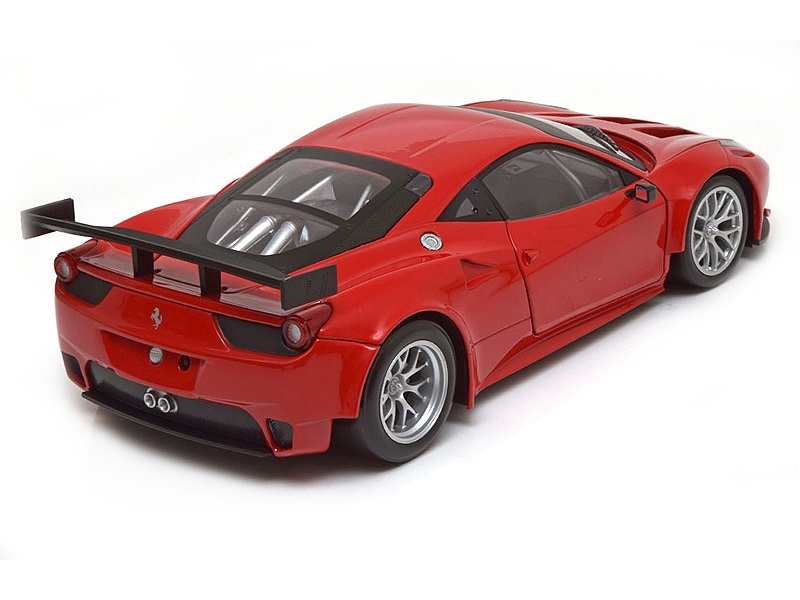 Коллекционная модель Ferrari 458 Italia GT2 Plain body Version 2011 Red