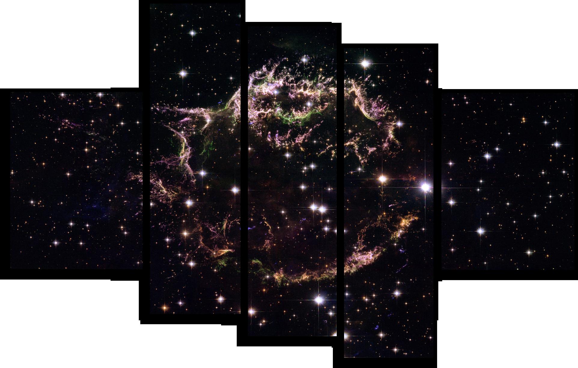 """Природа Модульная картина """"Созвездие Кассиопея"""" М515.png"""