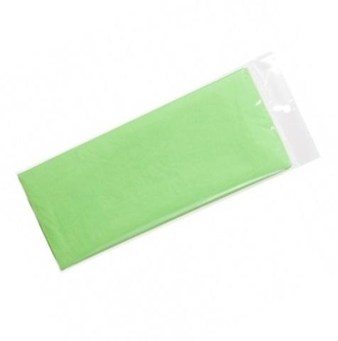 Бумага тишью 10 шт., 50x66 см, цвет: светло-салатовый