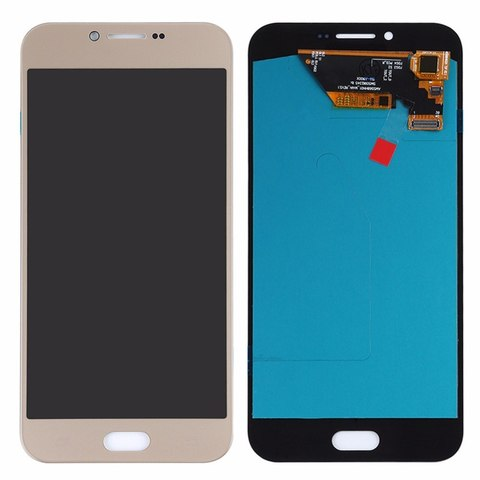 LCD SAMSUNG A8 2016 A810H + Touch Gold Orig